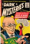 Cover for Dark Mysteries (Master Comics, 1951 series) #24