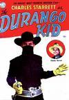 Cover for Charles Starrett as the Durango Kid (Magazine Enterprises, 1949 series) #1