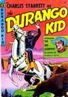 Cover for Charles Starrett as the Durango Kid (Magazine Enterprises, 1949 series) #23