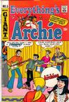 Cover for Everything's Archie (Archie, 1969 series) #5