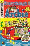 Cover for Everything's Archie (Archie, 1969 series) #9