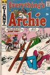 Cover for Everything's Archie (Archie, 1969 series) #18