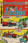 Cover for Everything's Archie (Archie, 1969 series) #25