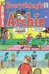 Cover for Everything's Archie (Archie, 1969 series) #34