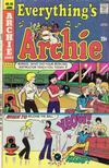 Cover for Everything's Archie (Archie, 1969 series) #40