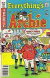 Cover for Everything's Archie (Archie, 1969 series) #54