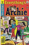 Cover for Everything's Archie (Archie, 1969 series) #61