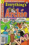 Cover for Everything's Archie (Archie, 1969 series) #84