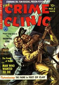 Cover Thumbnail for Crime Clinic (Ziff-Davis, 1951 series) #3