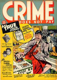 Cover Thumbnail for Crime Does Not Pay (Lev Gleason, 1942 series) #24