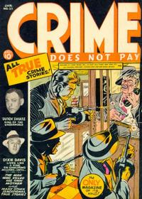 Cover Thumbnail for Crime Does Not Pay (Lev Gleason, 1942 series) #25