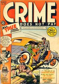 Cover for Crime Does Not Pay (Lev Gleason, 1942 series) #26