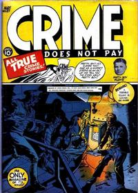 Cover Thumbnail for Crime Does Not Pay (Lev Gleason, 1942 series) #27