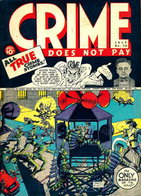 Cover Thumbnail for Crime Does Not Pay (Lev Gleason, 1942 series) #28