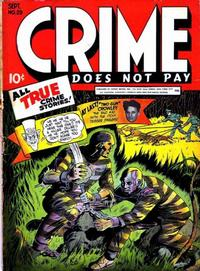 Cover Thumbnail for Crime Does Not Pay (Lev Gleason, 1942 series) #29