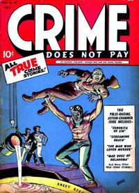 Cover Thumbnail for Crime Does Not Pay (Lev Gleason, 1942 series) #32