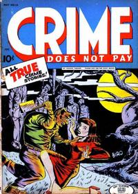 Cover Thumbnail for Crime Does Not Pay (Lev Gleason, 1942 series) #33