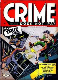 Cover Thumbnail for Crime Does Not Pay (Lev Gleason, 1942 series) #35
