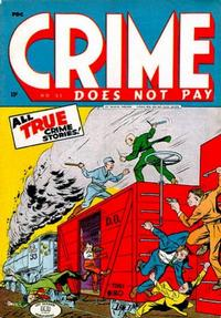 Cover Thumbnail for Crime Does Not Pay (Lev Gleason, 1942 series) #37