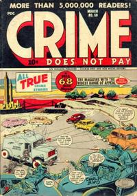 Cover Thumbnail for Crime Does Not Pay (Lev Gleason, 1942 series) #50