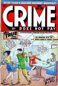 Cover Thumbnail for Crime Does Not Pay (Lev Gleason, 1942 series) #58