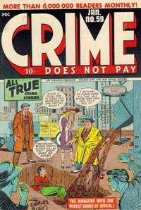 Cover Thumbnail for Crime Does Not Pay (Lev Gleason, 1942 series) #59