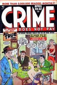 Cover Thumbnail for Crime Does Not Pay (Lev Gleason, 1942 series) #62