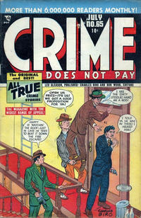 Cover Thumbnail for Crime Does Not Pay (Lev Gleason, 1942 series) #65