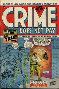 Cover Thumbnail for Crime Does Not Pay (Lev Gleason, 1942 series) #67