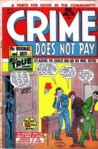 Cover Thumbnail for Crime Does Not Pay (Lev Gleason, 1942 series) #70