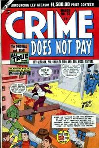 Cover Thumbnail for Crime Does Not Pay (Lev Gleason, 1942 series) #73