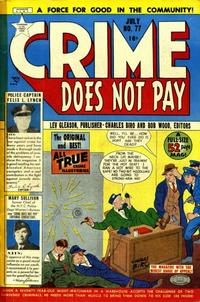 Cover Thumbnail for Crime Does Not Pay (Lev Gleason, 1942 series) #77