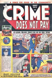 Cover Thumbnail for Crime Does Not Pay (Lev Gleason, 1942 series) #78