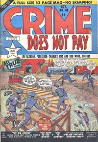 Cover Thumbnail for Crime Does Not Pay (Lev Gleason, 1942 series) #80