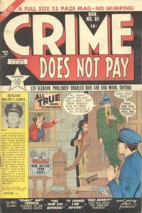 Cover Thumbnail for Crime Does Not Pay (Lev Gleason, 1942 series) #81