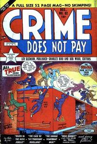 Cover Thumbnail for Crime Does Not Pay (Lev Gleason, 1942 series) #82