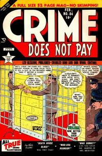 Cover for Crime Does Not Pay (Lev Gleason, 1942 series) #84