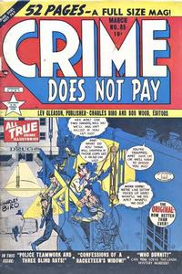 Cover Thumbnail for Crime Does Not Pay (Lev Gleason, 1942 series) #85