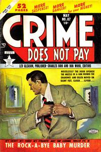 Cover Thumbnail for Crime Does Not Pay (Lev Gleason, 1942 series) #87