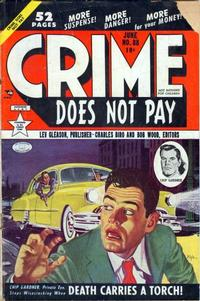 Cover Thumbnail for Crime Does Not Pay (Lev Gleason, 1942 series) #88