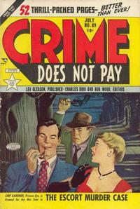 Cover Thumbnail for Crime Does Not Pay (Lev Gleason, 1942 series) #89