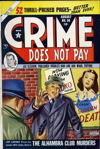 Cover Thumbnail for Crime Does Not Pay (Lev Gleason, 1942 series) #90