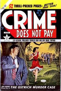 Cover Thumbnail for Crime Does Not Pay (Lev Gleason, 1942 series) #93