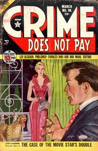 Cover Thumbnail for Crime Does Not Pay (Lev Gleason, 1942 series) #96