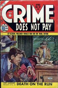 Cover Thumbnail for Crime Does Not Pay (Lev Gleason, 1942 series) #97