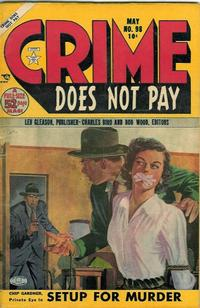 Cover Thumbnail for Crime Does Not Pay (Lev Gleason, 1942 series) #98