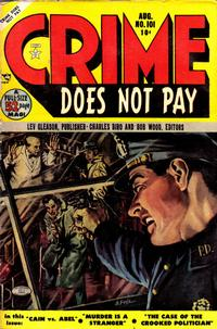 Cover Thumbnail for Crime Does Not Pay (Lev Gleason, 1942 series) #101