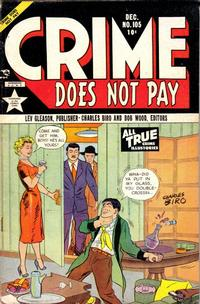 Cover Thumbnail for Crime Does Not Pay (Lev Gleason, 1942 series) #105
