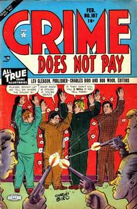 Cover Thumbnail for Crime Does Not Pay (Lev Gleason, 1942 series) #107