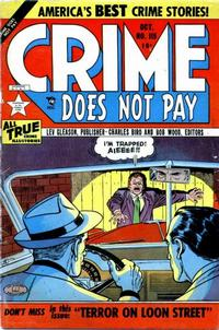 Cover Thumbnail for Crime Does Not Pay (Lev Gleason, 1942 series) #115